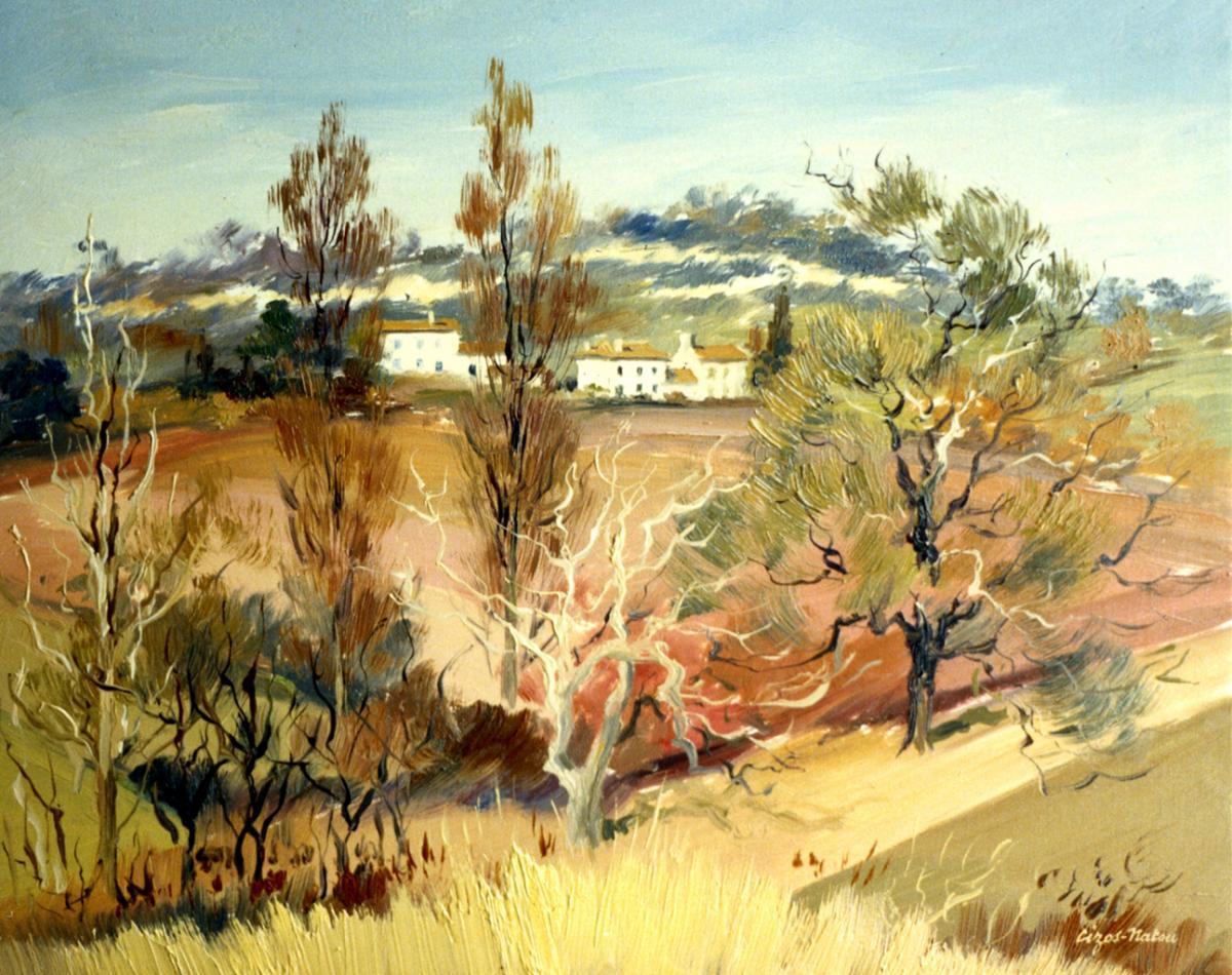 Pierre Cizos-Natou. Galgon, 1986. Collection particulière