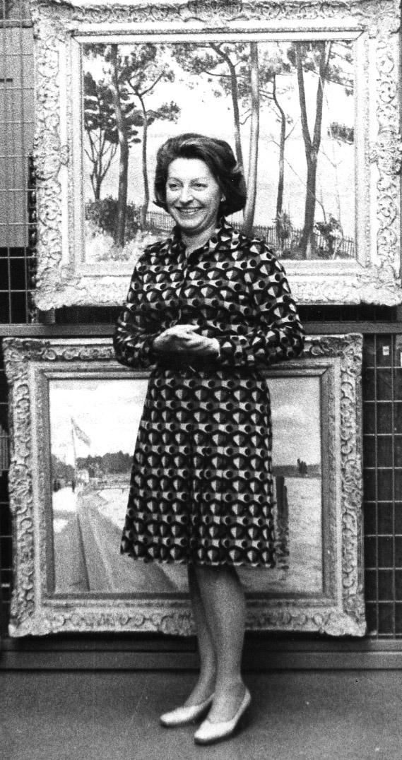 Portrait de Gilberte Martin-Méry - Photographie anonyme © Documentation Musée des Beaux-Arts - Mairie de Bordeaux