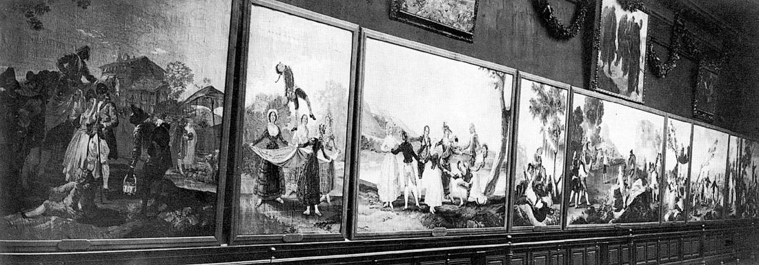 Image : Vue des salles du musée pendant l'exposition Goya de 1919 - Anonyme, Archives municipales de Bordeaux
