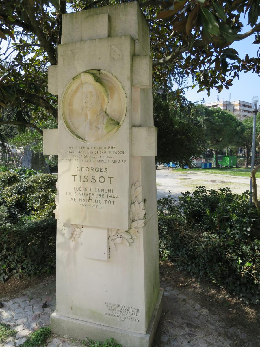 Image : Alexandre Callède, Médaillon pour le Monument à Georges Tissot, 1959