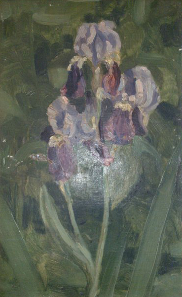 R. Lataste-Sabatié. Iris. Collection particulière