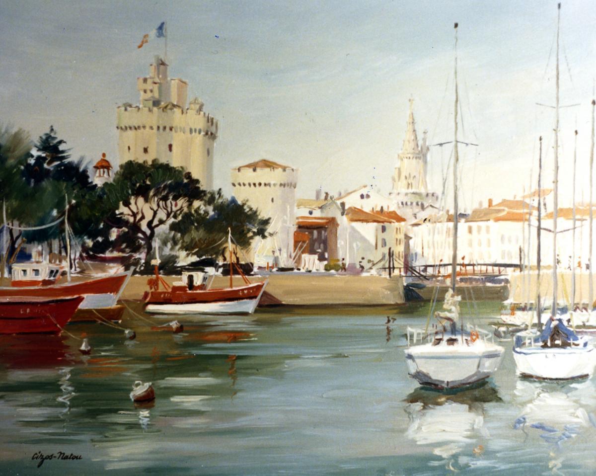 Pierre Cizos-Natou. La Rochelle, 1986. Collection particulière