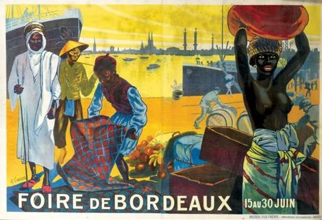 Roger Lataste-Sabatié. Affiche, foire de Bordeaux, 1923. Collection particulière