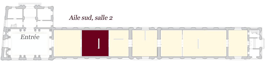 Image de localisation de la salle 2 - musée des Beaux-Arts de Bordeaux