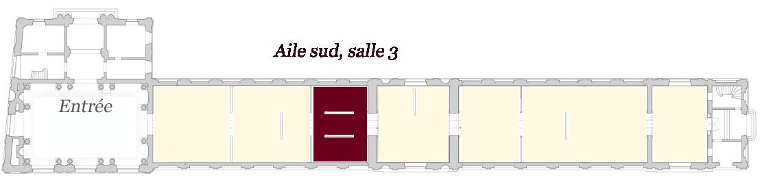 Image de localisation de la salle 3 - musée des Beaux-Arts de Bordeaux