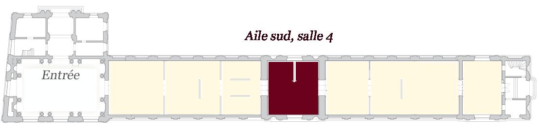 Image de localisation de la salle 4 - musée des Beaux-Arts de Bordeaux