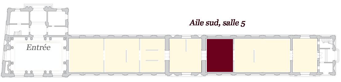 Image de localisation de la salle 5 - musée des Beaux-Arts de Bordeaux