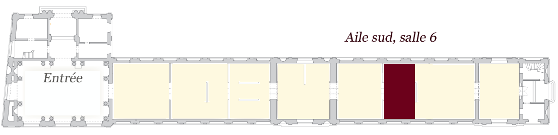 Image de localisation de la salle 6 - musée des Beaux-Arts de Bordeaux