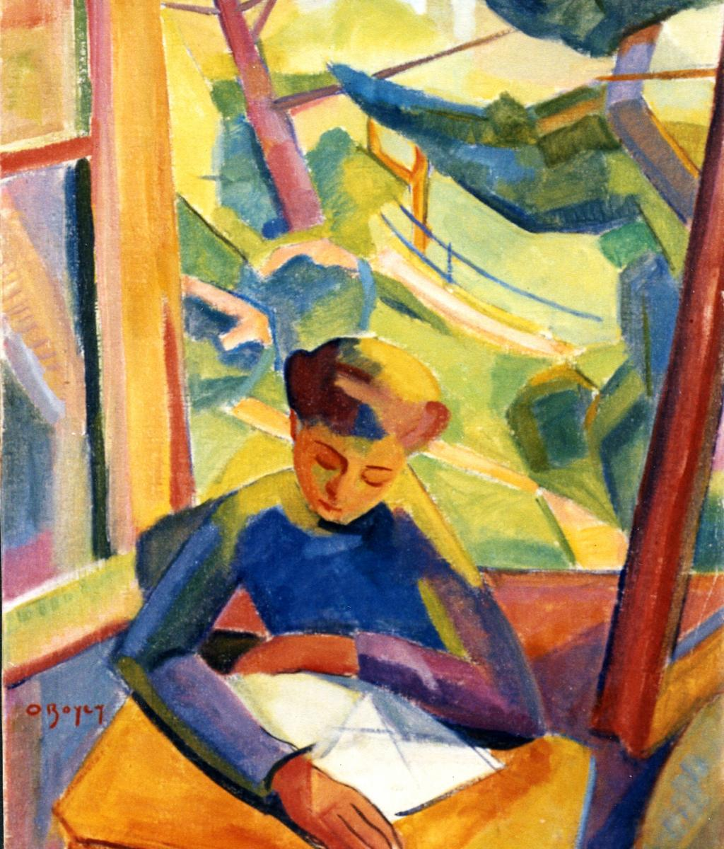 Odette Boyer-Chantoiseau. Annick, 1948-1949. Collection particulière