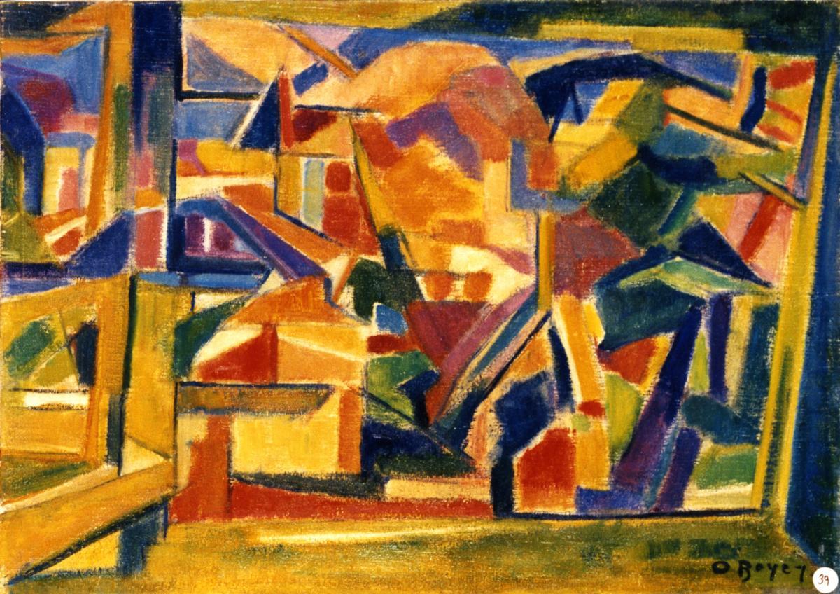 Odette Boyer-Chantoiseau. Basterade, 1949. Collection particulière