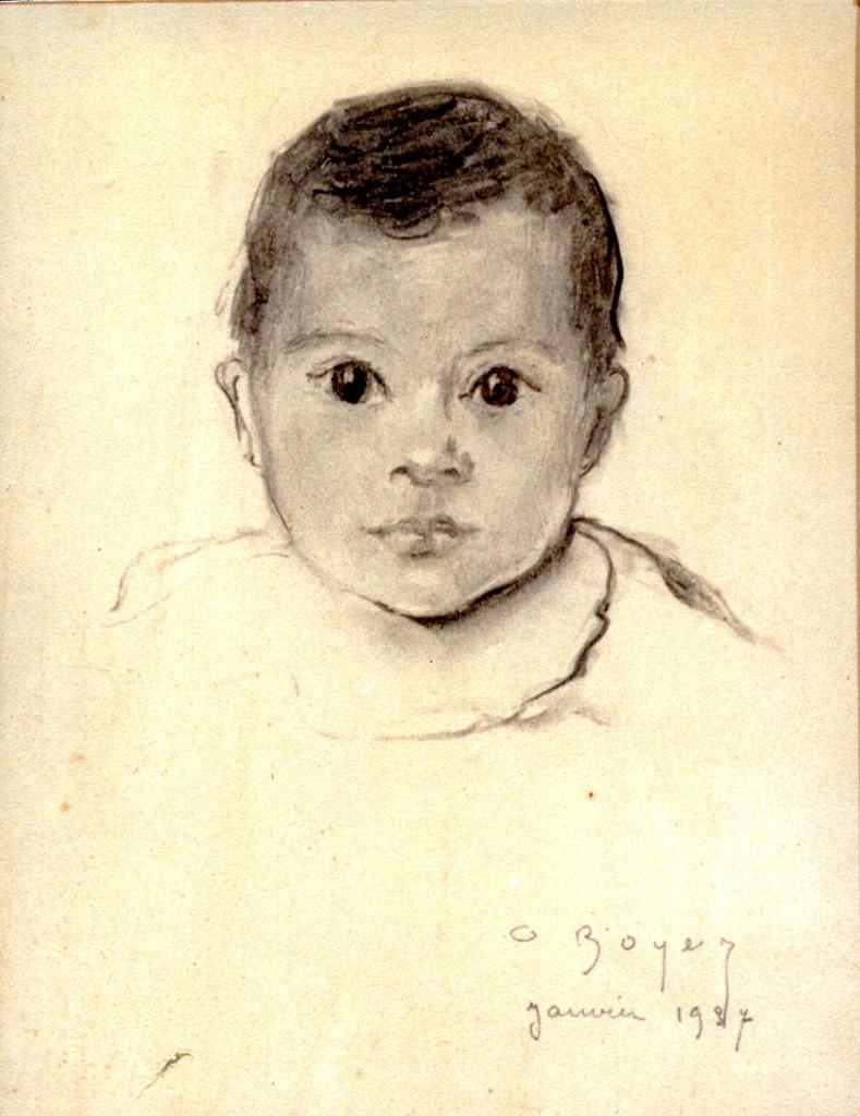 Odette Boyer-Chantoiseau. Bernard, 1937. Collection particulière