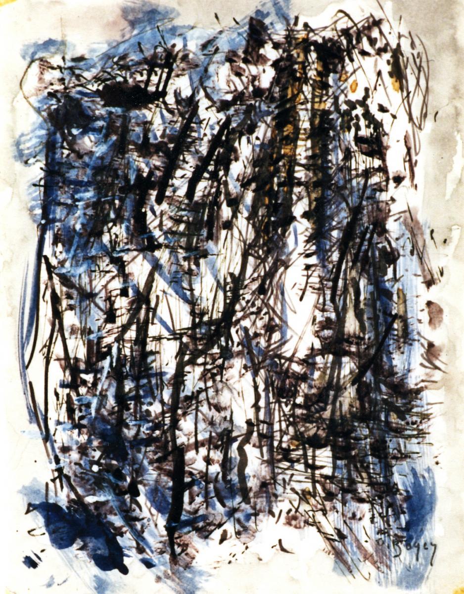 Odette Boyer-Chantoiseau. Calvaire, 1965. Collection particulière