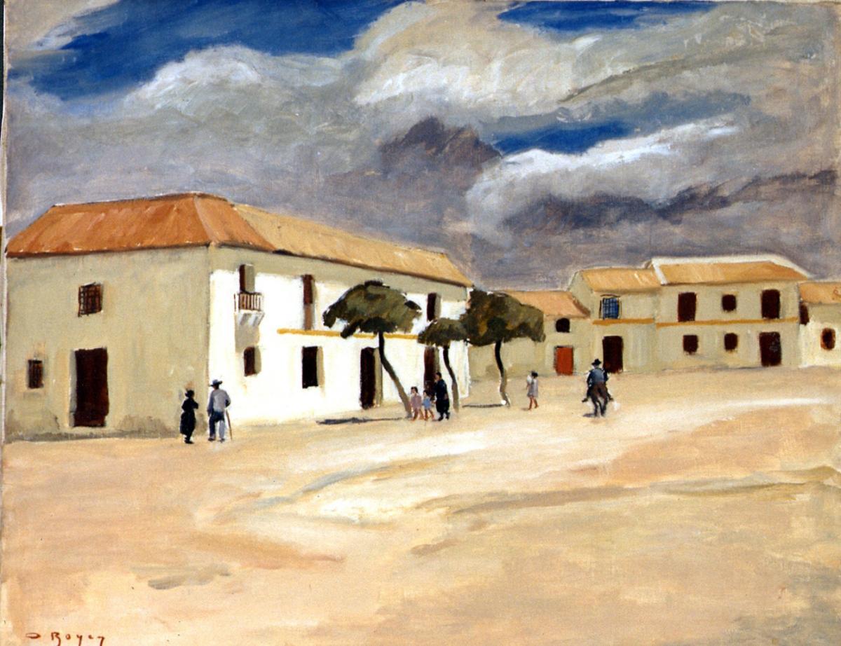Odette Boyer-Chantoiseau. Canaries, 1935. Collection particulière