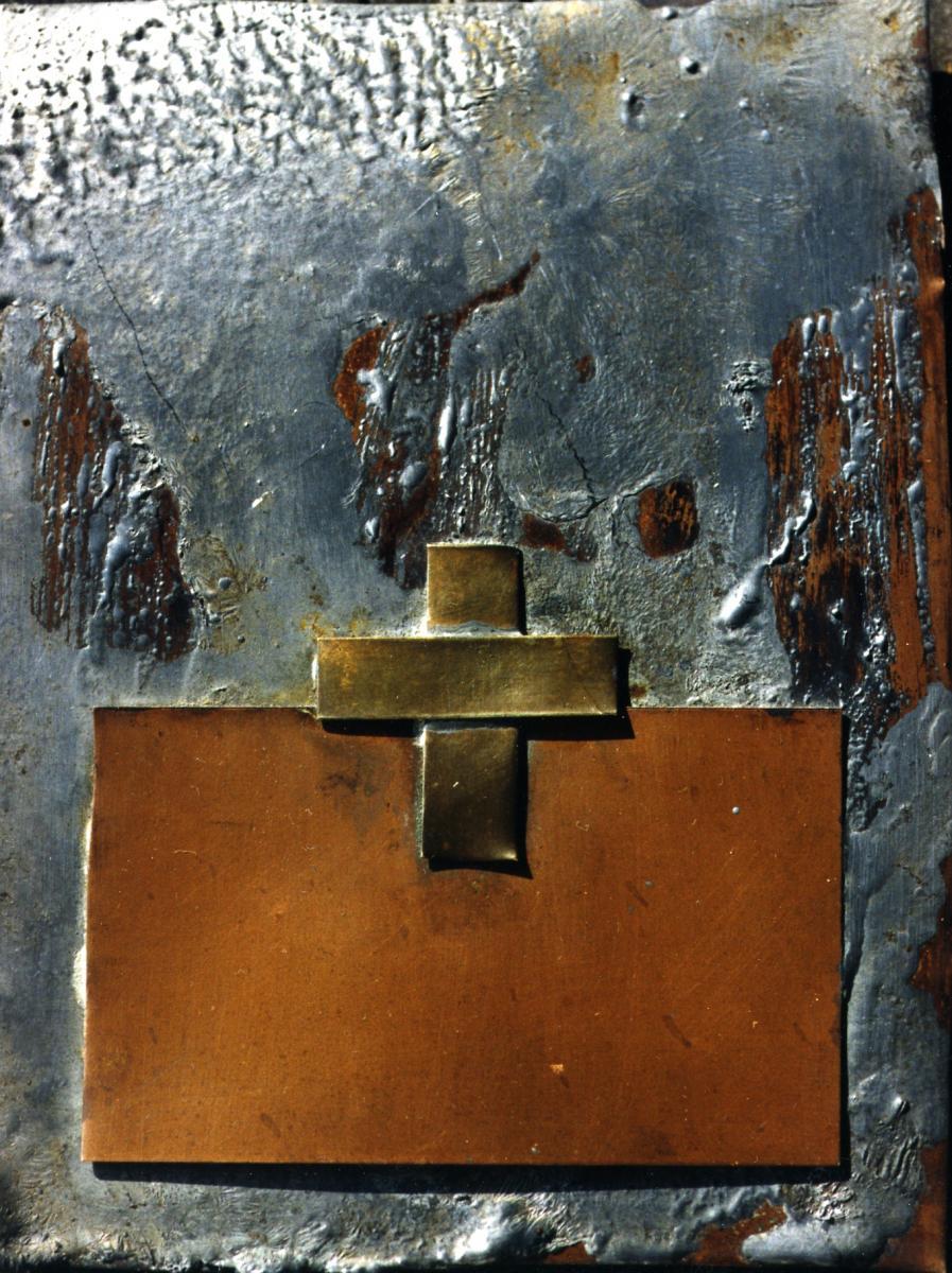 Odette Boyer-Chantoiseau. Chemin de croix. Collection particulière