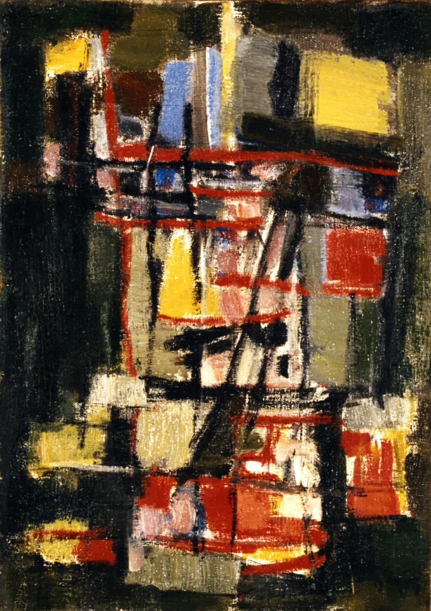 Odette Boyer-Chantoiseau. Croix, 1958. Collection particulière