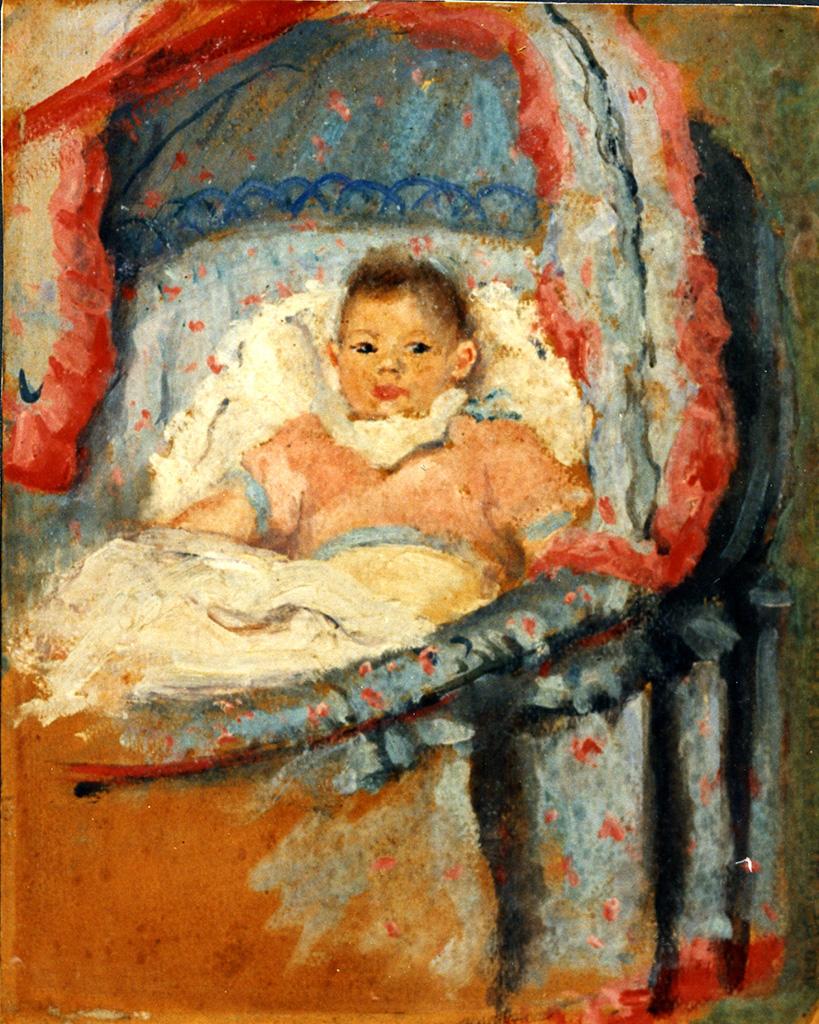 Odette Boyer-Chantoiseau. Florence, fille de l'artiste, 1933. Collection particulière