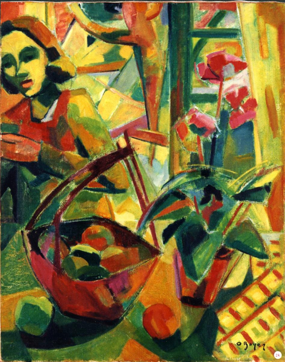 Odette Boyer-Chantoiseau. Florence, 1948-1949. Collection particulière