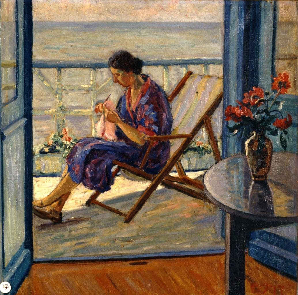 Odette Boyer-Chantoiseau. Mère de l'artiste, 1936. Collection particulière