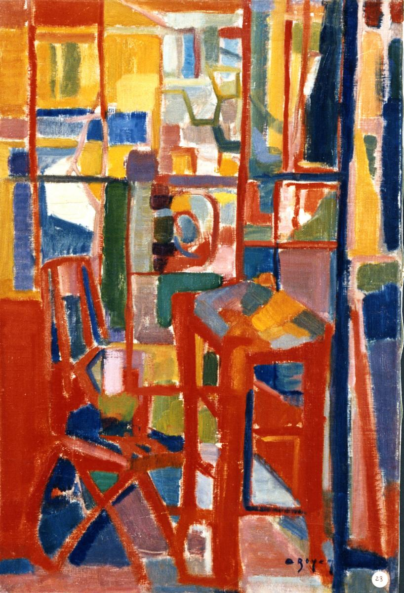 Odette Boyer-Chantoiseau. Nature morte, 1948-1949. Collection particulière