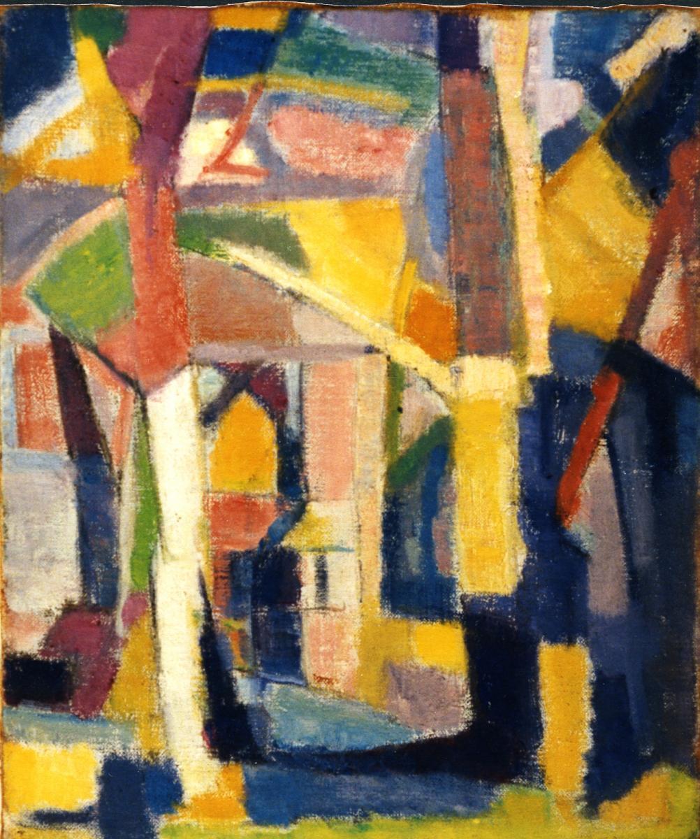 Odette Boyer-Chantoiseau. Paysage, 1949. Collection particulière