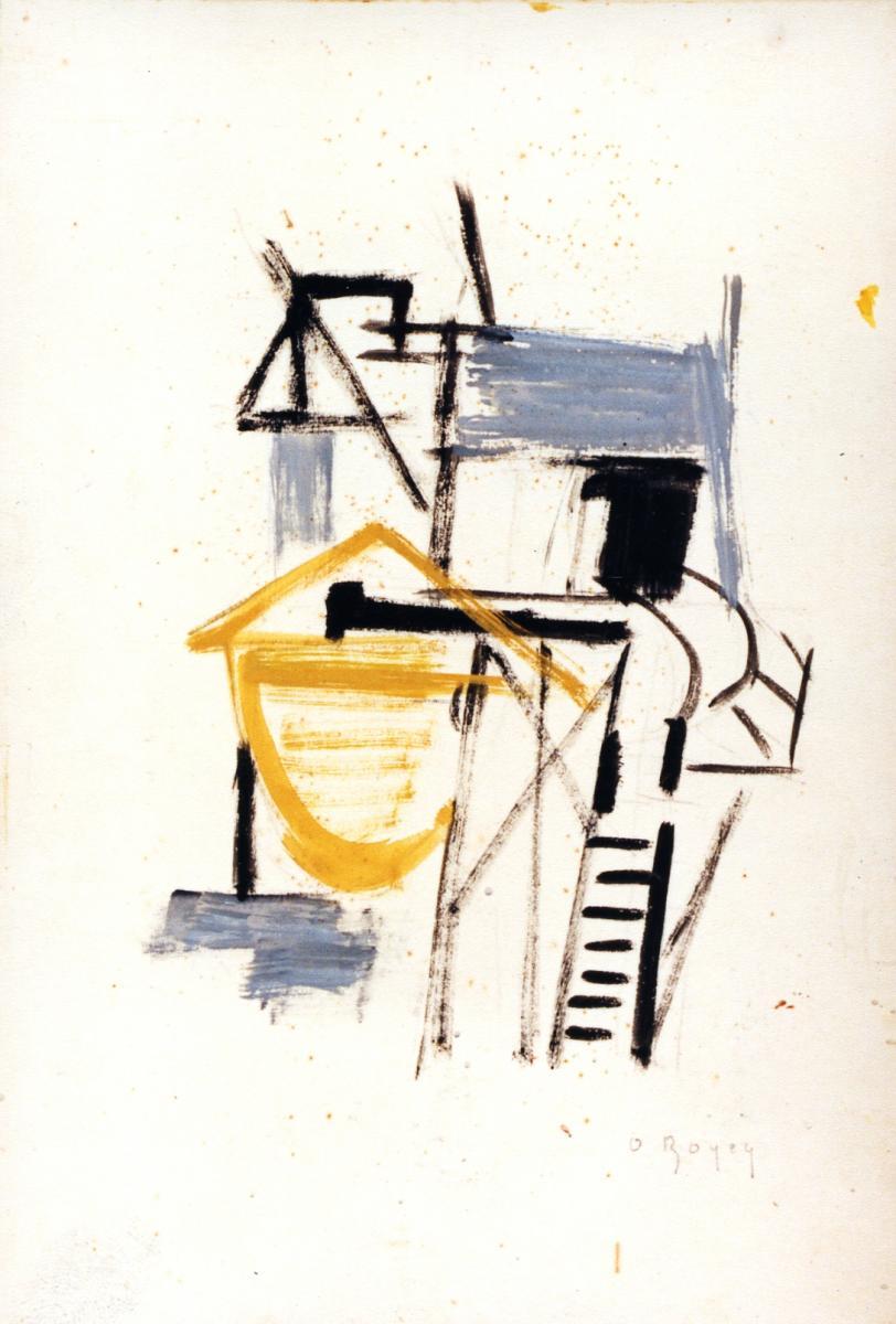 Odette Boyer-Chantoiseau. Royan, 1954. Collection particulière