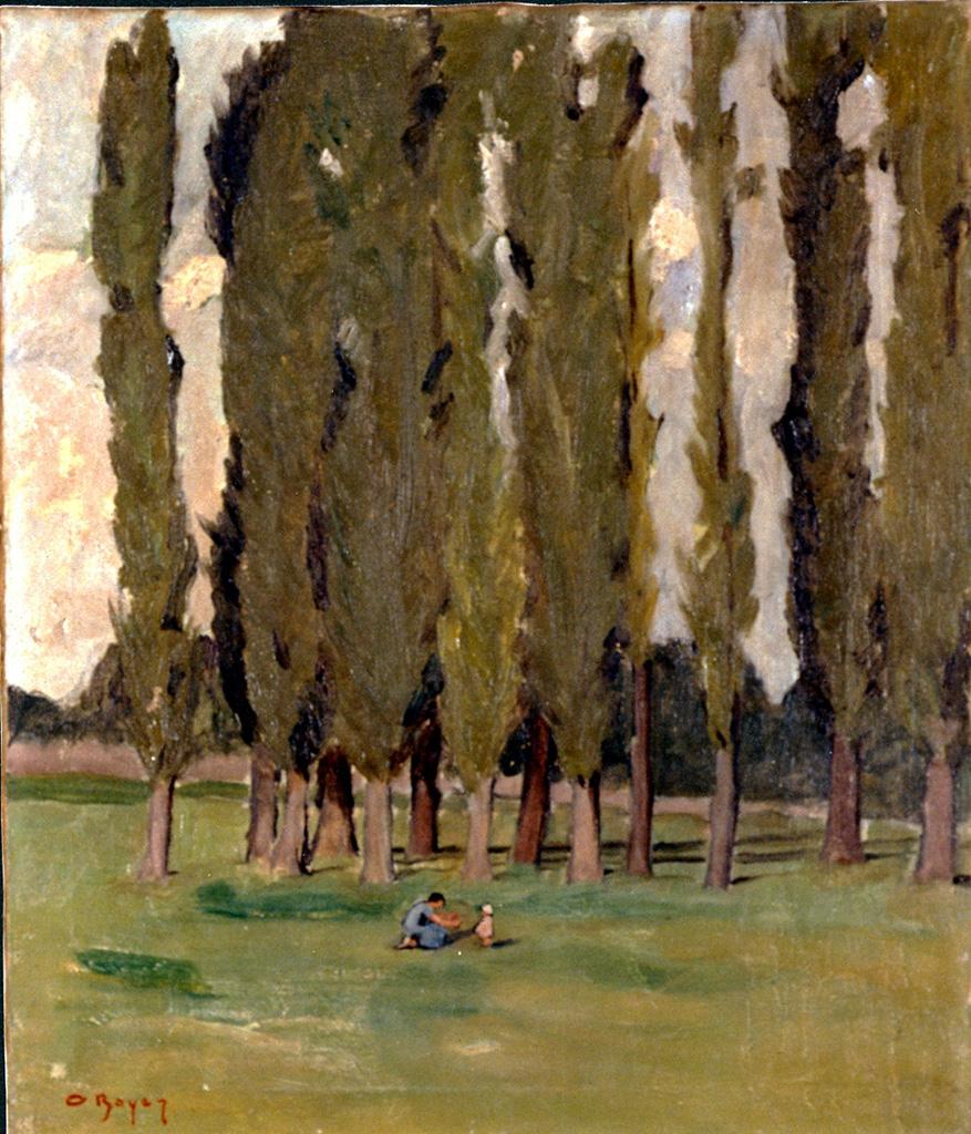 Odette Boyer-Chantoiseau. Salleboeuf, 1940. Collection particulière