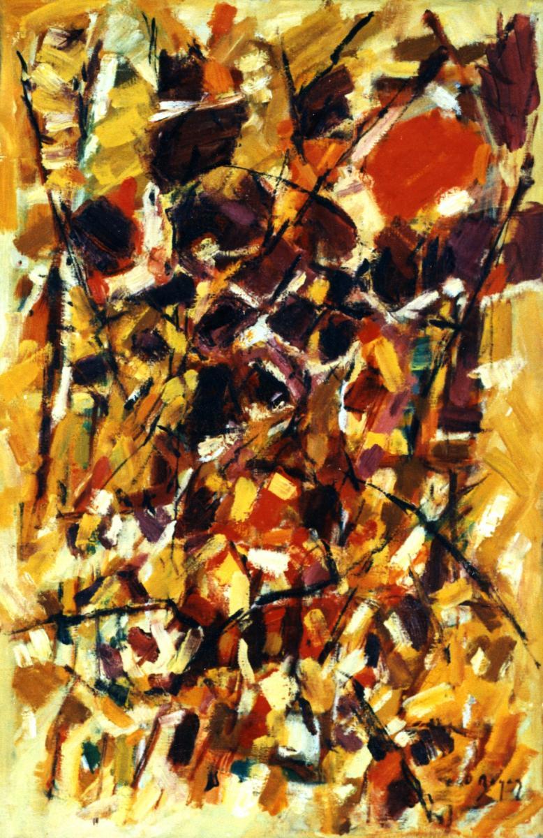 Odette Boyer-Chantoiseau. Soleil de midi, 1963. Collection particulière