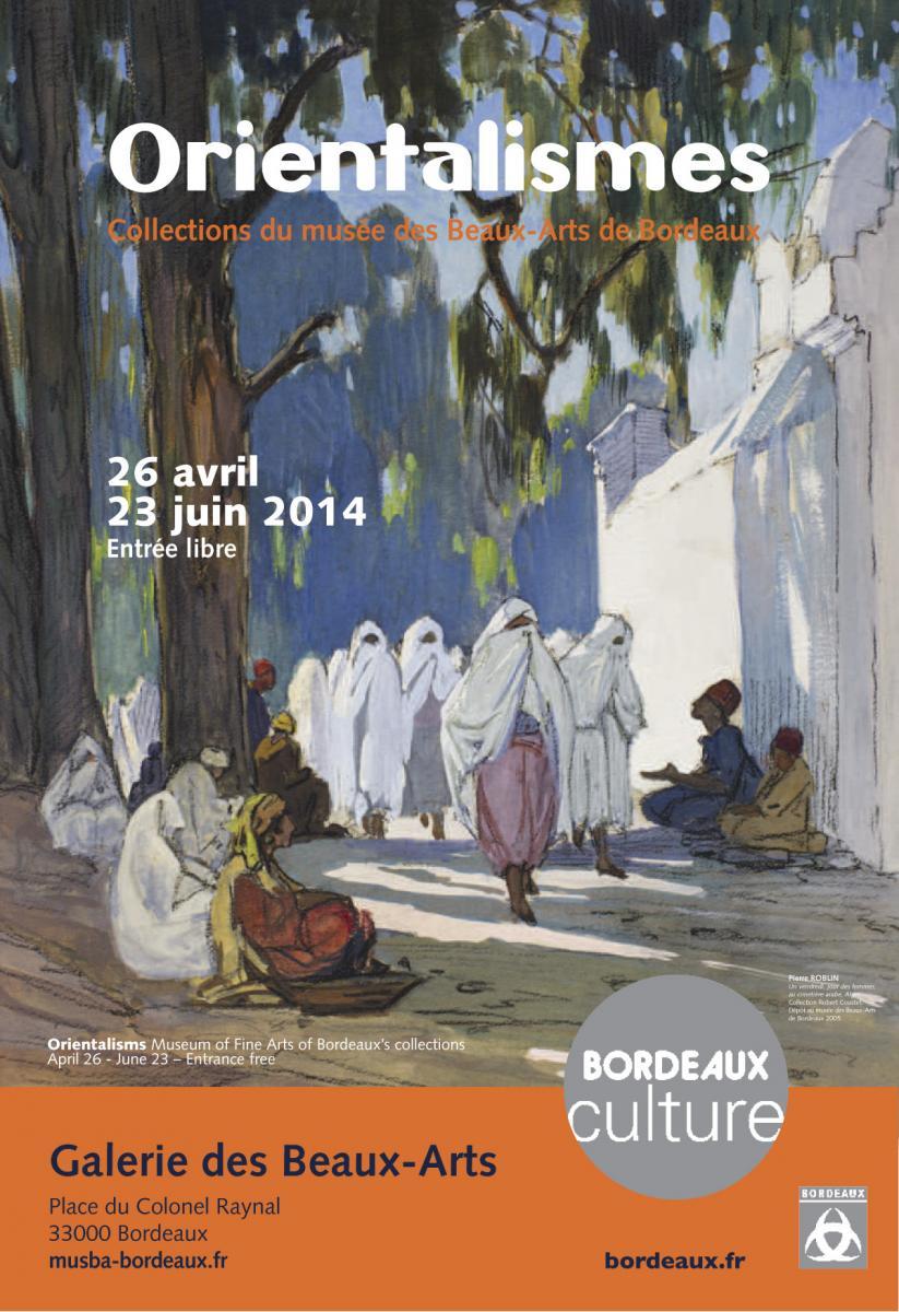 Lien vers la documentation de l'exposition de 2014 Orientalismes © Documentation musée des Beaux-Arts - Mairie de Bordeaux