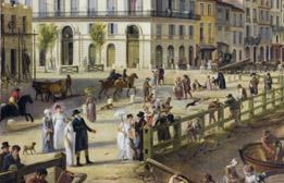 Détail : Personnages premier plan © Musée des Beaux-Arts - Bordeaux