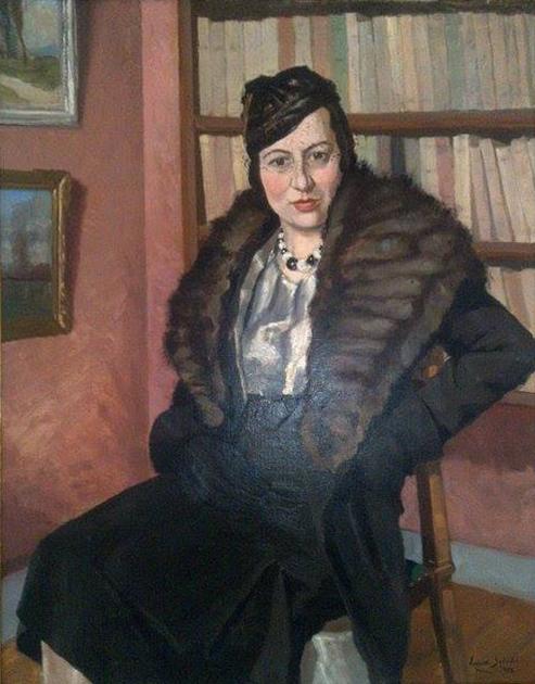R. Lataste-Sabatié. Portrait de Madame Lataste. Collection particulière