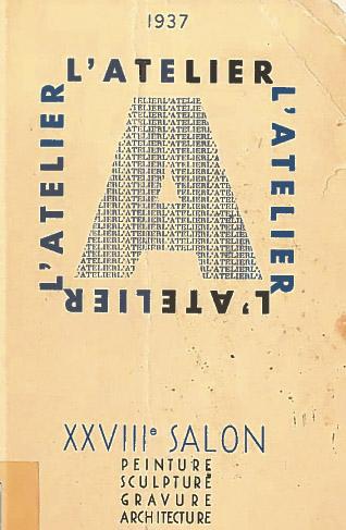 Lien vers le catalogue du Salon de l'Atelier 1937 (c) Musée des Beaux-Arts-Mairie de Bordeaux