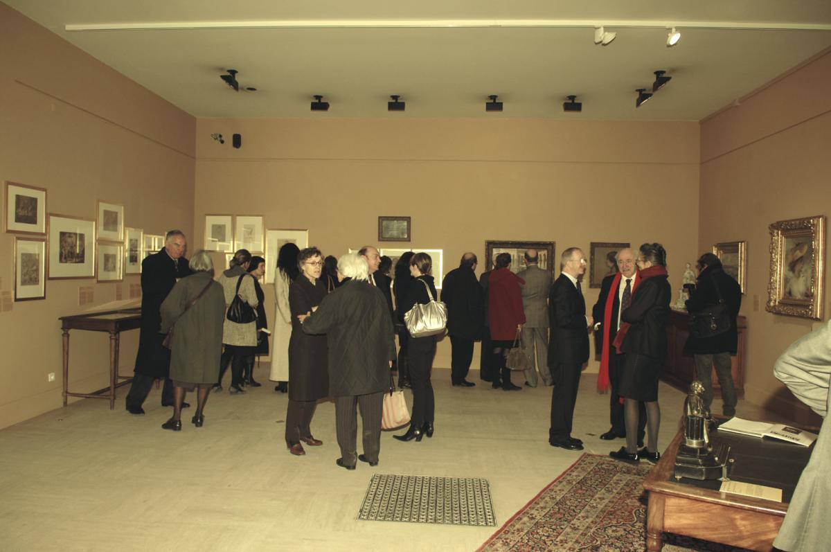 Image du vernissage de l'exposition