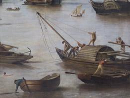 Détail : Yole © Musée des Beaux-Arts - Bordeaux