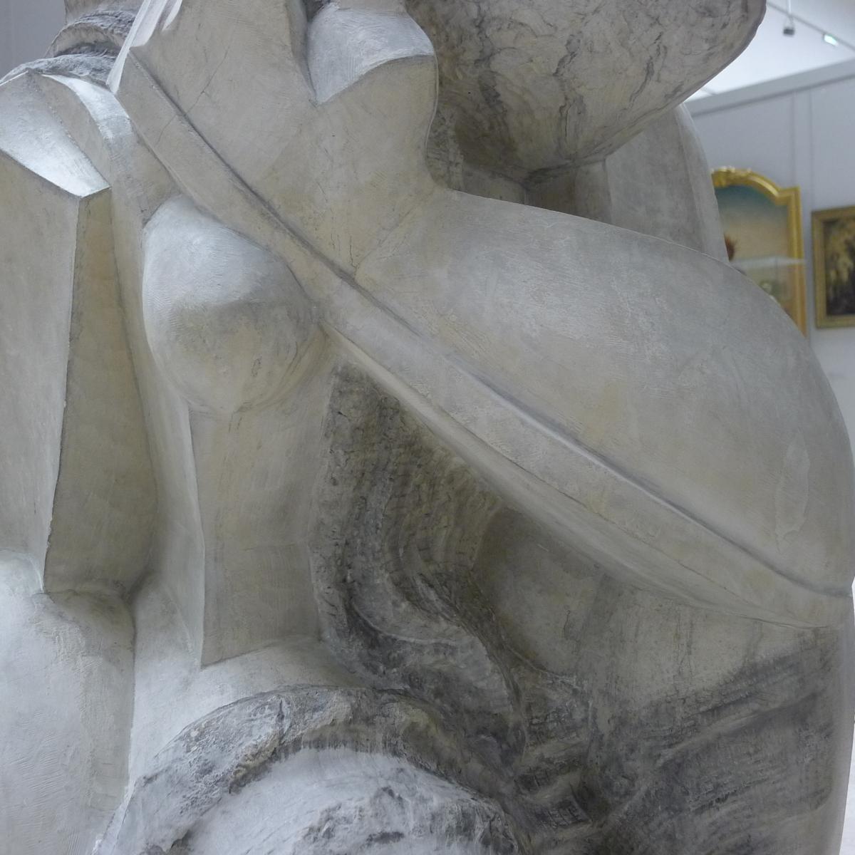 Femme accroupie, Ossip ZADKINE© Musée des Beaux-Arts-Mairie de Bordeaux