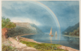 Samuel Jackson, Rainbow on the River Avon, vers 1825