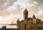 """Image de """"Un Château au bord de l'eau""""©Musée des Beaux-Arts-mairie de Bordeaux. Cliché L. Gauthier"""