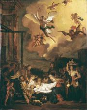 """Image de """"L'adoration des bergers""""© Musée des Beaux-Arts-mairie de Bordeaux. Cliché L.Gauthier"""