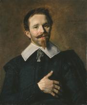 """Image de """"Portrait d'un homme dit L'Homme à la main sur le coeur""""© MusÈe des Beaux-Arts-mairie de Bordeaux. Cliché L.Gauthier"""