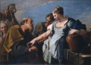 """Image de """"Eliezer et Rebecca""""© Musée des Beaux-Arts-mairie de Bordeaux. Cliché L. Gauthier"""