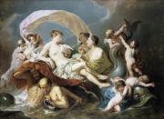 """Image de """"Vénus sur les eaux""""© Musée des Beaux-Arts-mairie de Bordeaux. Cliché L. Gauthier"""