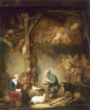 """Image de """"L'Adoration des bergers""""© Musée des Beaux-Arts-mairie de Bordeaux. Cliché L. Gauthier"""