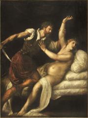 """Image de """"Tarquin et Lucrèce""""© Musée des Beaux-Arts-mairie de Bordeaux. Cliché L. Gauthier"""