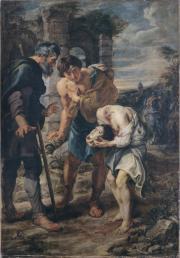 """Image de """"Le Miracle de saint Just""""©Musée des Beaux-Arts-mairie de Bordeaux. Cliché L. Gauthier"""