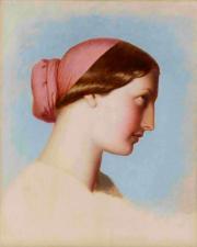 Achat de la Ville – Eugène-Emmanuel-Amaury Pineu-Duval, dit Amaury-Duval – Jeune femme de Saint-Jean-de-Luz