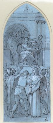 Joseph Felon.Chemin de croix © Musée des Beaux-Arts-mairie de Bordeaux. Cliché F.Deval