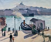 Albert MARQUET, Cheval à Marseille © Musée des Beaux-Arts, Ville de Bordeaux