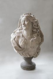 Don de la Société des Amis du musée des Beaux-Arts de Bordeaux – Jean Robert Nicolas Lucas de Montigny – Buste d'Antoinette Clavel dite la Saint-Huberty dans le rôle d'Iphigénie