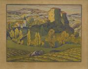 Don Jean-Paul Callède au musée des Beaux-Arts de Bordeaux - Jean-Baptiste Vettiner - Paysage