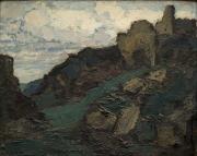Don Jean-Paul Callède au musée des Beaux-Arts de Bordeaux – Pierre Molinier– Paysage aux ruines