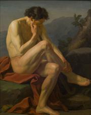 Image Berger assis de Taillasson acquisition 2015 musée des Beaux-Arts Bordeaux